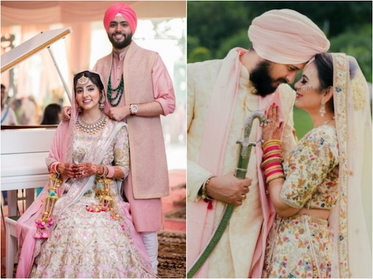 Refreshing New Indian Bride \u0026 Groom Colour Combinations For