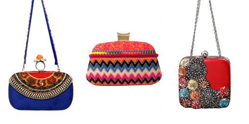 Colourful Clutches | Indian Wedding Accessories: The Perfect Clutch Bag