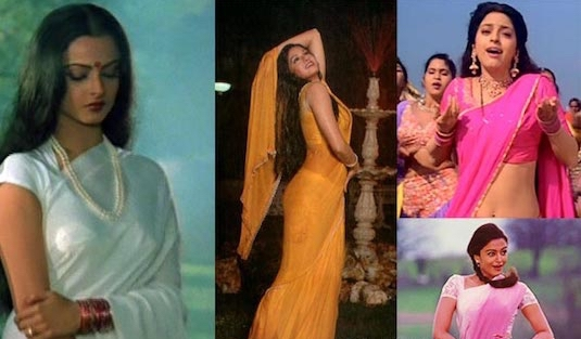Evolution Of The Saree | 1990s Saree 1