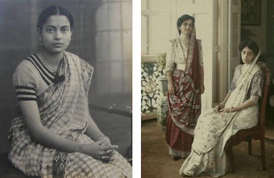 Evolution Of The Saree | British Saree 1