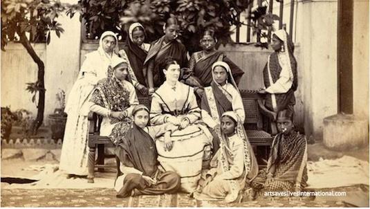 Evolution Of The Saree | British Saree 2