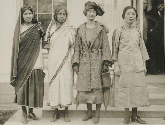 Evolution Of The Saree | British Saree 3
