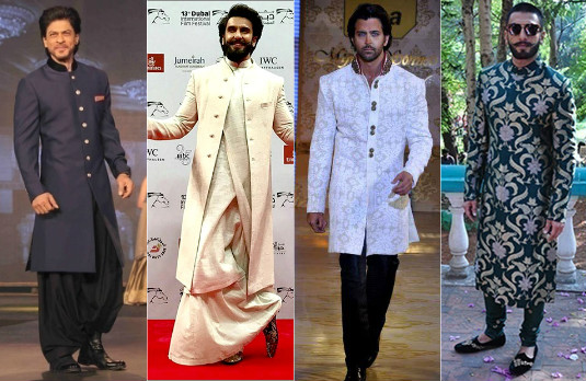 Evolution Of The Sherwani | Modern Sherwanis