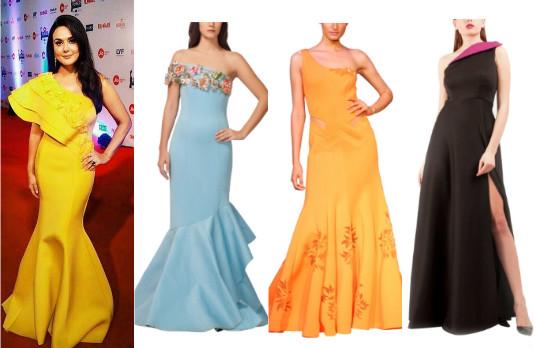 Filmfare 2017 Preity Zinta