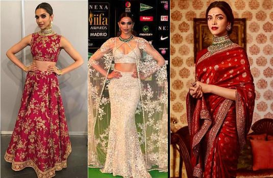 Getting Married Deepika-Ranveer Outfits