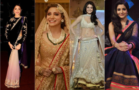 Getting Married Anushka-Virat Outfits