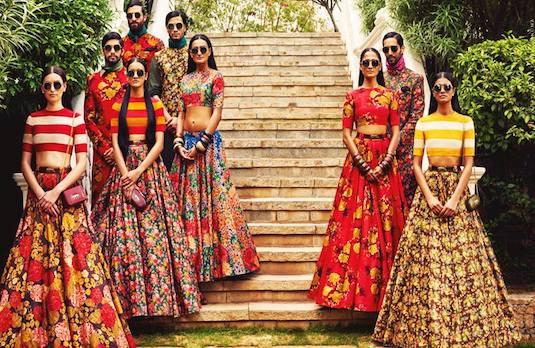 Indian Summer Weddings | Flirty Floral Celeb 1