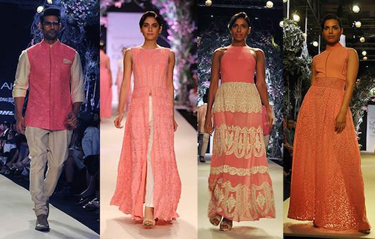 Indian Summer Weddings | Perky Pastels Celebs