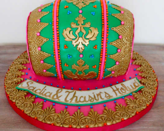 traditional west indian wedding cake indian wedding cakes with an ethnic flair indian fashion 21213