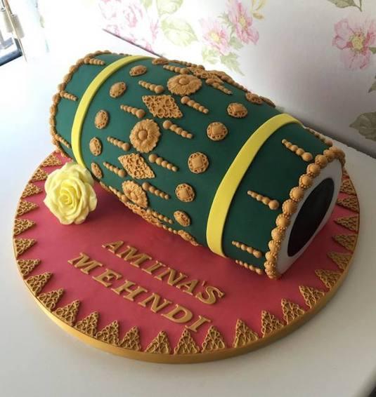 Indian wedding cake design