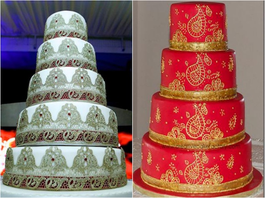 west indian wedding cake recipes indian wedding cakes with an ethnic flair indian fashion 27038