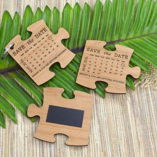 Creative & Cute Jigsaw Puzzle Wedding Invites | Indian