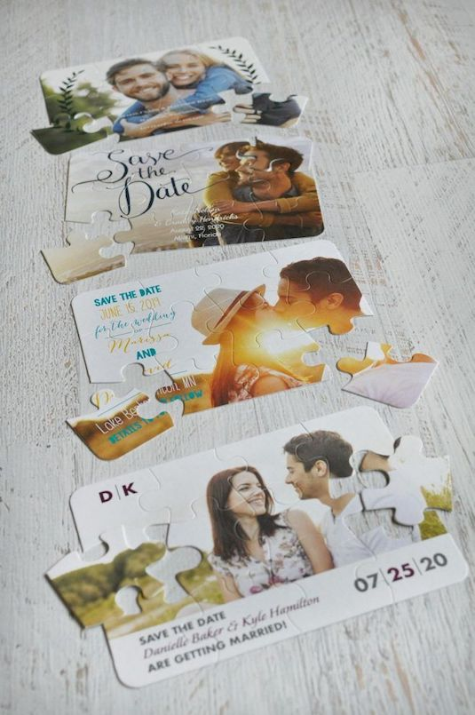 Creative & Cute Jigsaw Puzzle Wedding Invites | Indian Fashion Blog