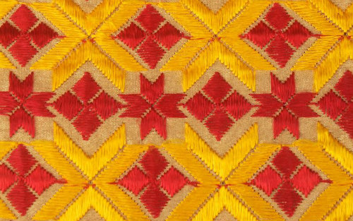 Punjab Phulkari Embroidery Dazzling Colours And