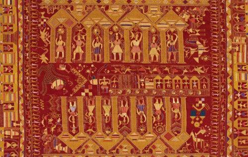 Journey Map - Phulkari Colours and Motifs - Darshan Dwar