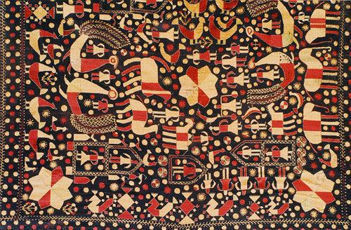 Journey Map - Sainchi Motifs used in Phulkari Embroidery