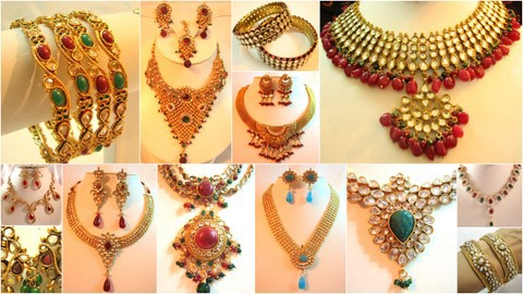 Collection of Indian Jewellery