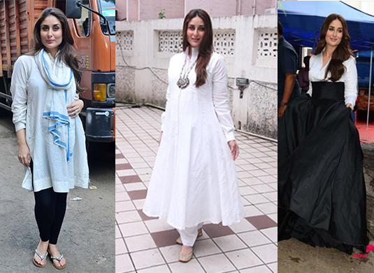 Style Evolution of Kareena Kapoor - Pre and Post Pregnancy - maternity look