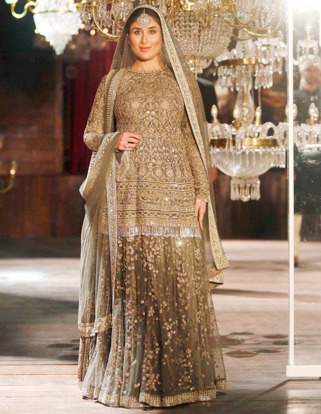 Style Evolution of Kareena Kapoor - Pre and Post Pregnancy - Kareena as Sabyasachi show stopper