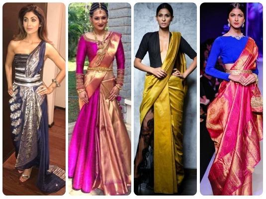 Quirky Kitschy Saree Drapes | Indian Fashion Blog