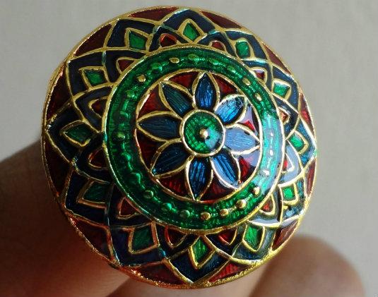 Meenakari Work - Ring