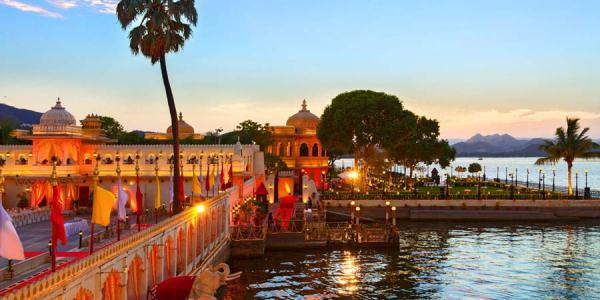 Most exotic indian wedding destinations indian fashion blog the palace built in 1600 by a rajput maharana today serves as an exotic location for occasions and parties lush green surroundings the shimmering lake junglespirit Image collections