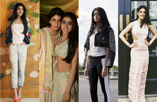 Indian fashion's answer to Gigi, Bella, Kendall and Kylie | New Instagram Stars | Navya Naveli Nanda