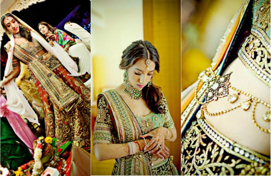 Non Conventional Bridal Outfit Colours | Multicoloured 2