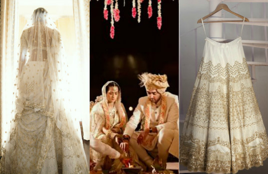 Non Conventional Bridal Outfit Colours | White 2
