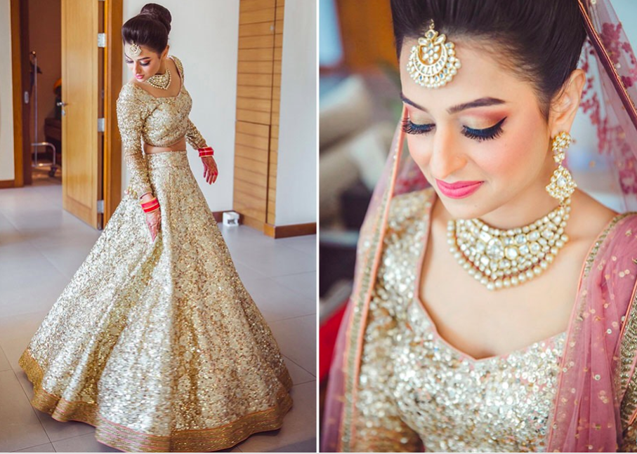 7 Shades Of Bridal Lehengas For The Offbeat Bride Indian