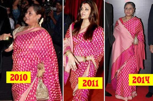 Outfit Dejavu | Aishwarya-Jaya