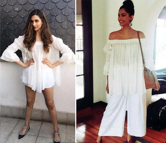Outfit Dejavu | Sonam-Deepika