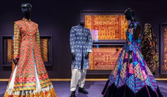 Phulkari Embroidery - Designer Outfits