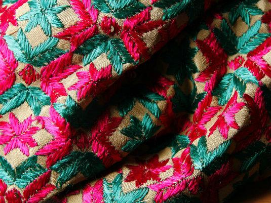 Phulkari Embroidery - Dupatta