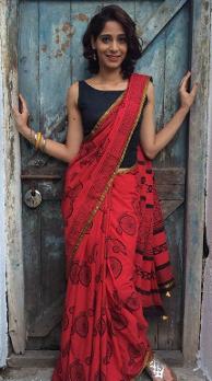 Work The Blouse Of Wedding Saree
