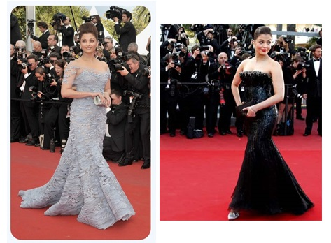 Aishwarya Rai Wearing Elie Saab and Armani Prive | Aishwarya Rai Bachchan at Cannes Film Festival: Over the years