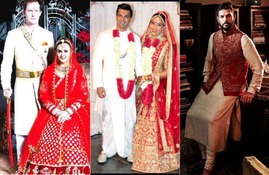 Sartorial Indian Celebrity Wedding Choices | Grooms