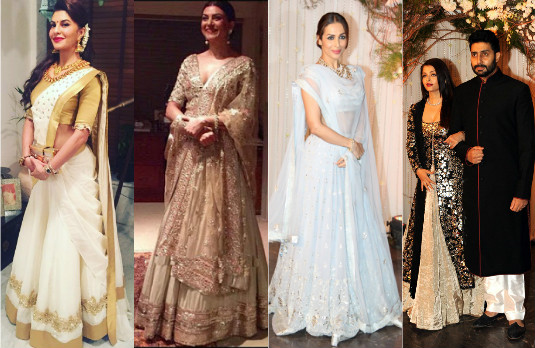 Sartorial Indian Celebrity Wedding Choices | Guests