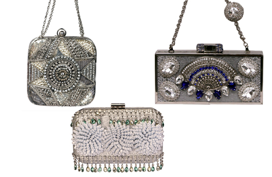 Silver Clutches | Indian Wedding Accessories: The Perfect Clutch Bag