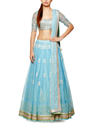 lehengas you should be wearing for an engagement ceremony