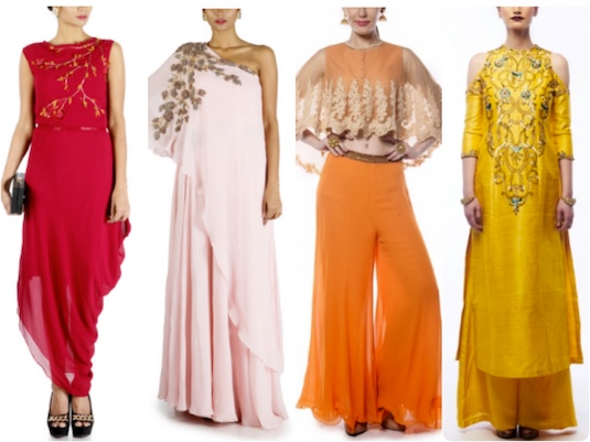 Summer Bridesmaids Dresses | Mehendi