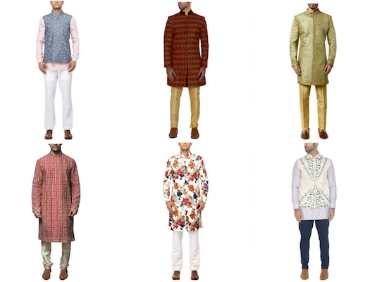 Summer Groom Dressing | Motifs 2