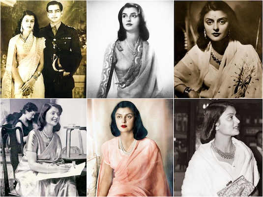 The Most Stylish Indian Historical Figures | Rajmata Gayatri Devi 1