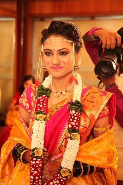 A Maharashtrian Bride