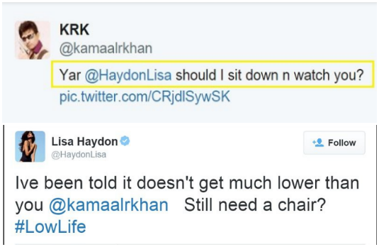 Lisa Haydon 2 | Indian Celebirties Involved With Nasty Twotter Trolls