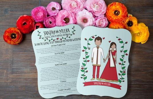 Western Wedding Ideas | Funny Indian Wedding Programs