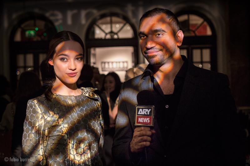Omar Mansoor Talking to Press | Fashion International AW16 Round Up