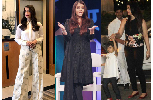 Aishwarya Rai's Casual Style | Bollywood Fashion 2015