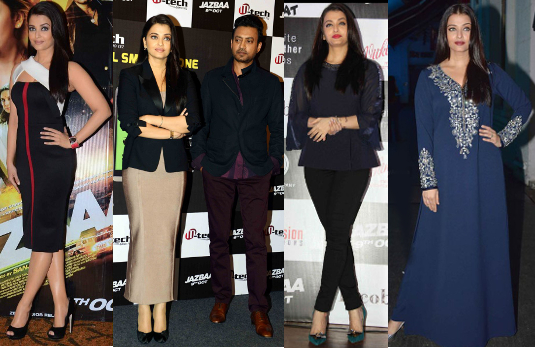 Aishwarya Rai Promotional Appearances | Bollywood Fashion 2015