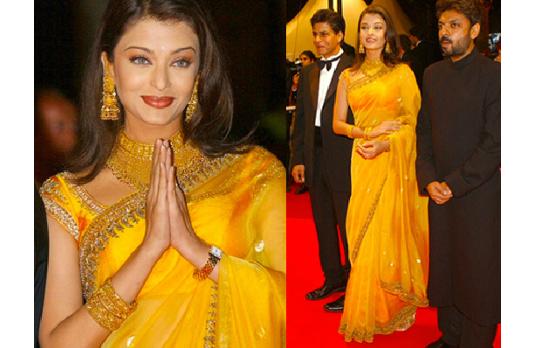 Aishwarya Rai Too Many accessories I 5 Fashion Mistakes That Everyone Makes